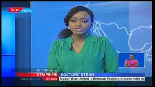 KTN Prime: Doctors' union officials finally meet Government officials for talks on CBA,
