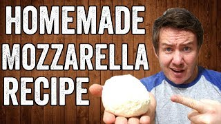 Homemade Mozzarella Recipe