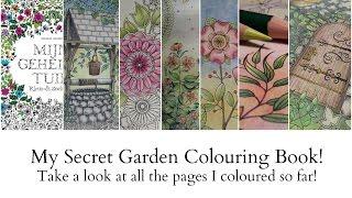 My Secret Garden Colouring Book