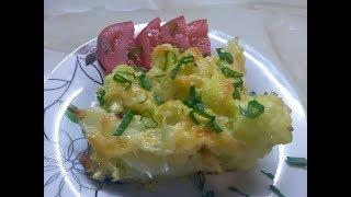 Запеканка из цветной капусты! Очень вкусно.