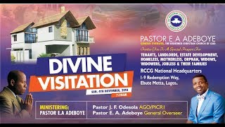 NOVEMBER SPECIAL THANKSGIVING SERVICE - DIVINE VISITATION with Pst E.A Adeboye
