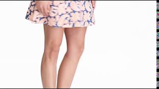 Paisley Golf Skort-video