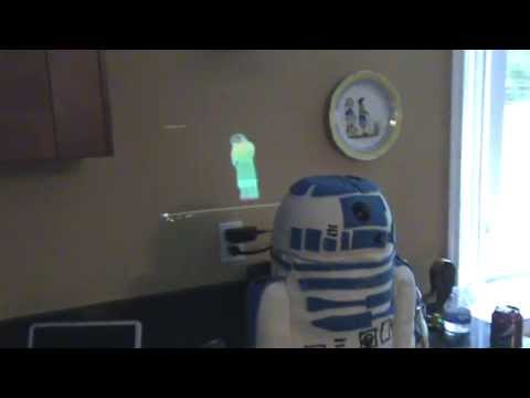 Hologram-Projecting R2-D2 Birthday Cake Makes Us Insanely Jealous