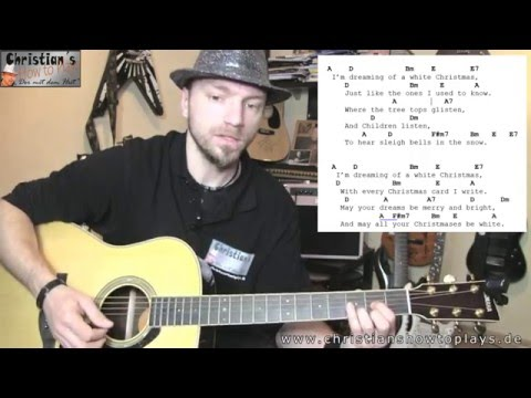 ★White Christmas – Bing Cosby Akustik Gitarre Liedbegleitung