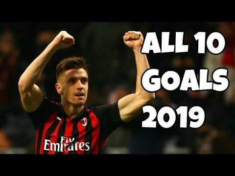 Krzysztof Piątek First 10 Goals For AC MILAN 2019