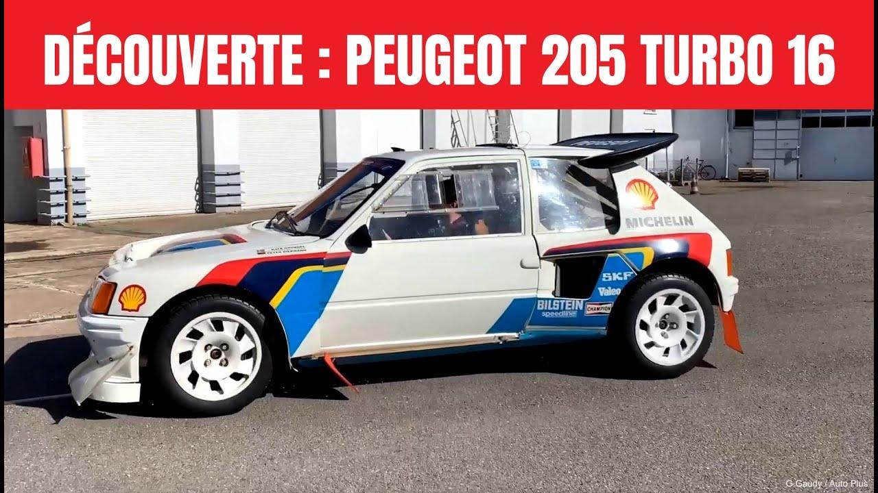 Peugeot 205 T16 avec moteur Mitsubishi Lancer EVO VIII