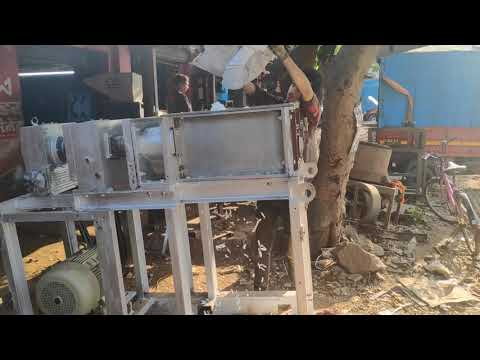 Heavy Duty Plastic Bottle Crusher Machine