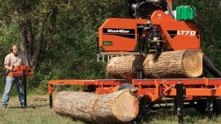 Wood-Mizer LT70 High Production Portable Sawmill - The Pinnacle of Sawing Performance
