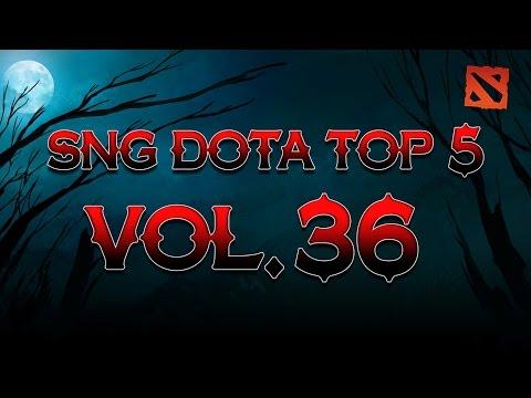 SNG Dota Top 5 vol.36