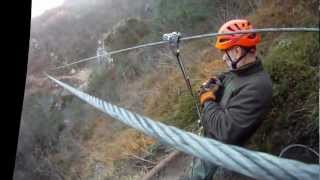 preview picture of video 'Zip Line Casto valle sabbia'