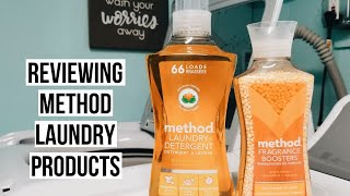 USING ONLY METHOD LAUNDRY PRODUCTS | NATURAL CLEANING PRODUCT REVIEW | PATRICIA MARIE