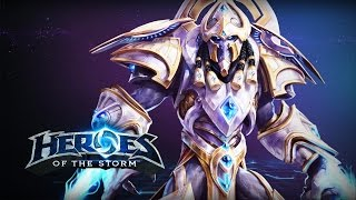 Artanis Damage Build - Heroes of the Storm Gameplay