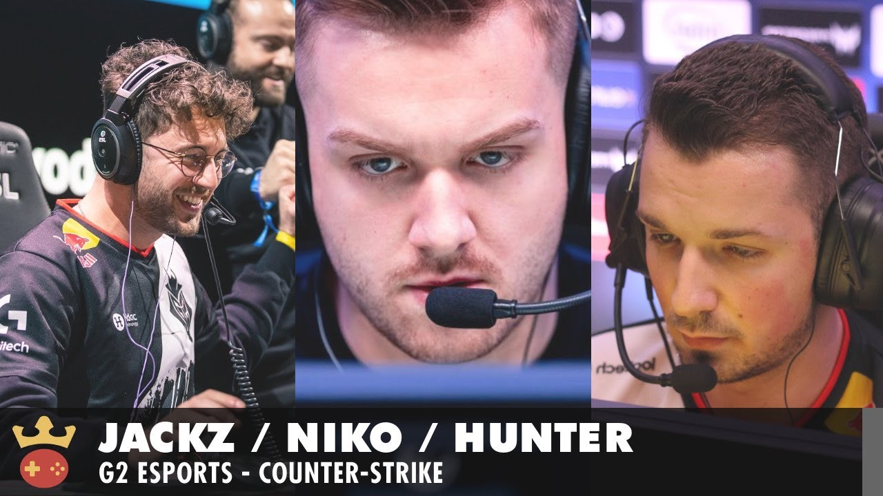 Video of Interview with NiKo, huNter-, and JaCkz from G2 Esports at IEM Cologne 2021