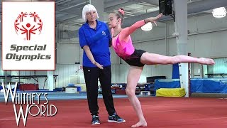 Video Demonstrations for Special Olympics   Whitney Bjerken Gymnastics