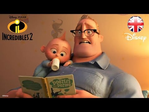 Incredibles 2 | SNEAK PEEK| Official Disney Pixar UK