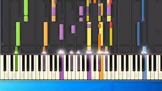 Christian Wunderlich - Forever tonight (ge) [Piano Tutorial Synthesia]