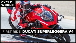 2020 Ducati Superleggera V4 First Ride Review