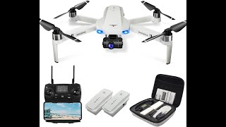 Drones for Adults 4K, LAVENDER KF102 GPS 4K Drone and, Brushless Motor Drones for Beginners/Kids