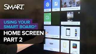 Getting to know your SMART Board with iQ technology part 2