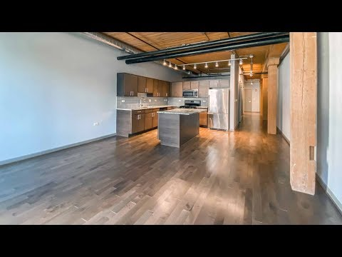 A spacious one-bedroom at Streeterville's Lofts at River East