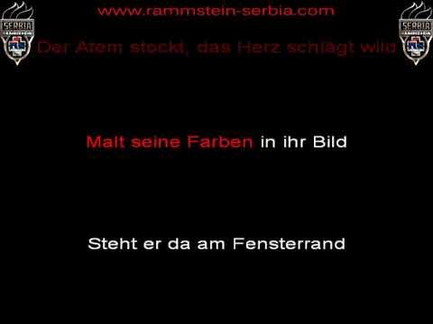 Rammstein - Weit Weg (instrumental with lyrics)