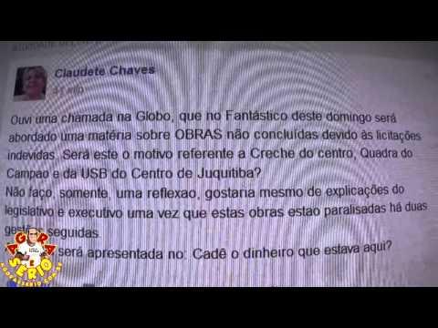 Claudete Chaves manda o recado no Facebook dos Renegados
