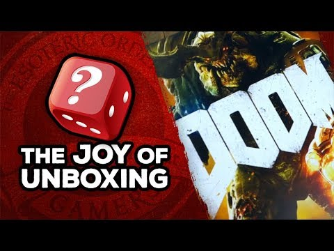 The Joy of Unboxing: Doom the Board Game