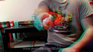 Anaglyph 3D Video - Good 3D Effect - Big Pen
