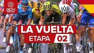 La Vuelta a España 2019 2ª etapa: Benidorm - Calpe Sprint  | GCN Racing