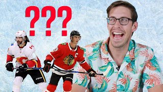 Sports Fans Try Spelling Hockey Players Names