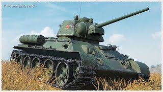 Type T-34 • 4550 DAMAGE on Chinese TIER 5 medium tank • WoT Gameplay