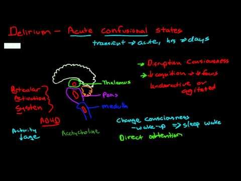 Patofizjologia majaczenia alkoholowego