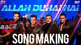 Allah Duhai Hai Song Making - Race 3 Behind the Scenes | Salman Khan | Remo D