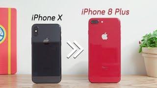 Mình đã chuyển từ iPhone X sang iPhone 8 Plus dùng