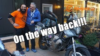 Ep 99 - On the way back - Around Europe on a motorcycle