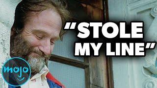 Los 10 mejores momentos sin guión de Robin Williams que quedaron en la película