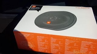 JBL Stage 9603 3-way Speaker(Unboxing,Instal and Test)