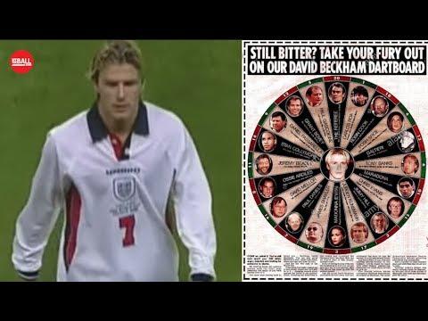England at World Cup 98: Beckham death threats, dropping Gazza, Argentina epic