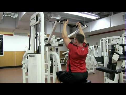 Parallel Grip Machine Lat Pulldown