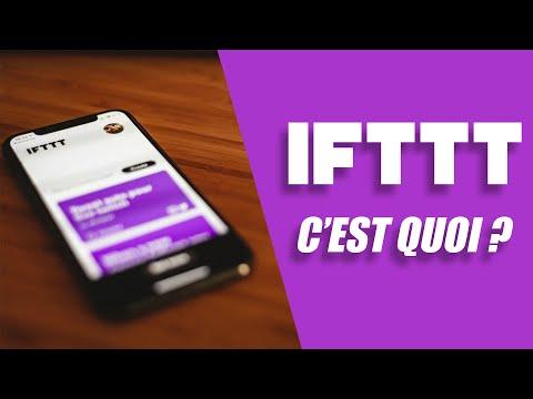 CETTE APPLICATION ME CHANGE LA VIE ! - IFTTT