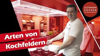 VERGLEICH der Kochfeldarten: Vor- und Nachteile? | Masse-, Gas-, Ceran- und Induktion-Kochfelder!