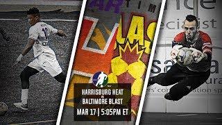 Harrisburg Heat vs Baltimore Blast