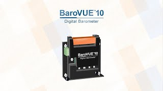 introducing the barovue™10 by campbell scientific