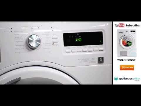 8kg Whirlpool Heat Pump Dryer WDEHP80DW reviewed by product expert – Appliances Online