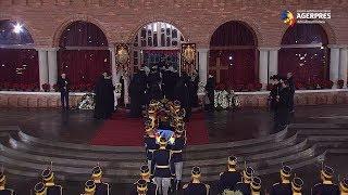 Regele Mihai a fost înmormântat la Curtea de Argeş