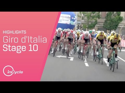 Giro d'Italia 2019 | Stage 10 Highlights | inCycle