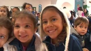 Estudantes se encantam com apresentação da Escola de Artes Cênicas de Santos