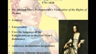 Judith Sargent Murray - On the Equality of the Sexes