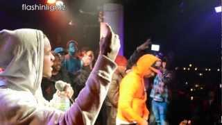 LIL REESE LIVE feat JUELZ SANTANA X VINNY CHA$E KID ART NYC!!!!!!....