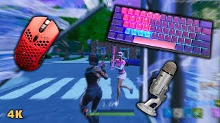 More Chill Keyboard + Mouse Sounds | Fortnite (4K)